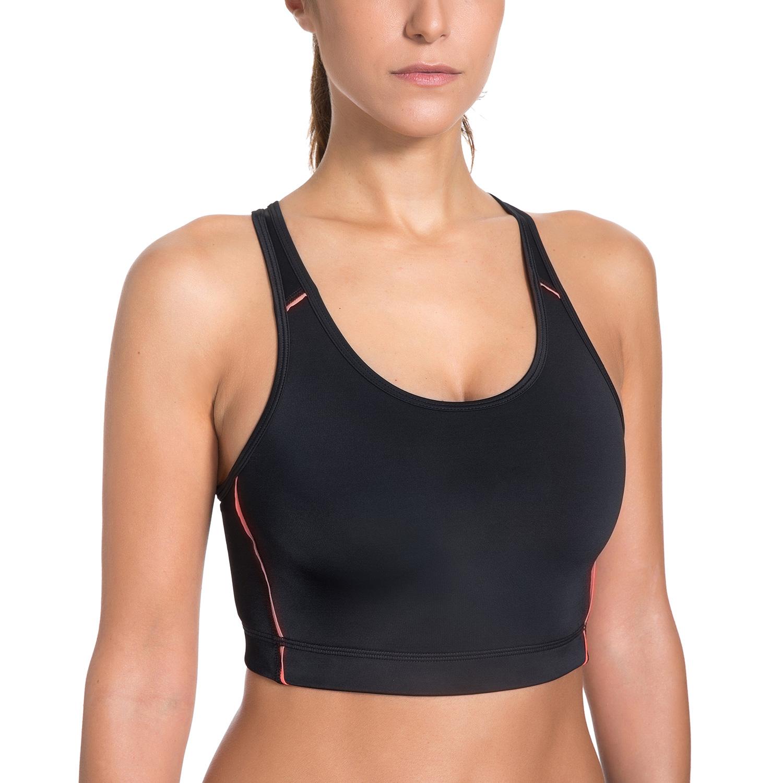 femme soutien gorge de sport top sans armatures dos nageur ebay. Black Bedroom Furniture Sets. Home Design Ideas
