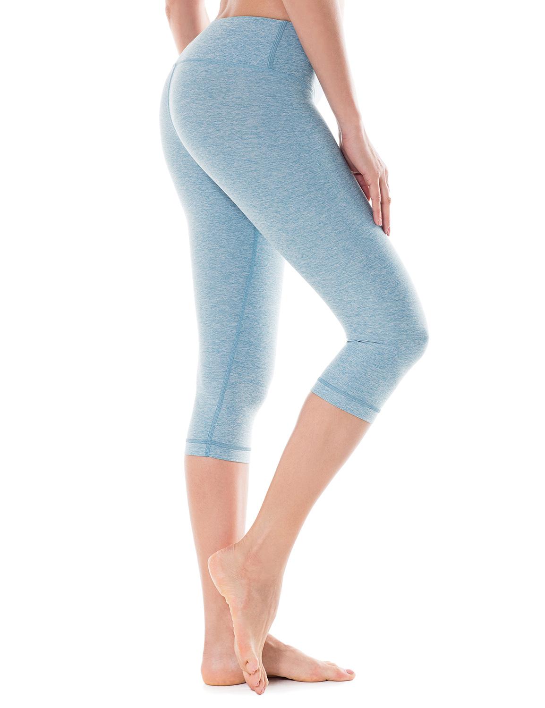 damen sport yoga leggings capri tights training fitness sportshose ebay. Black Bedroom Furniture Sets. Home Design Ideas