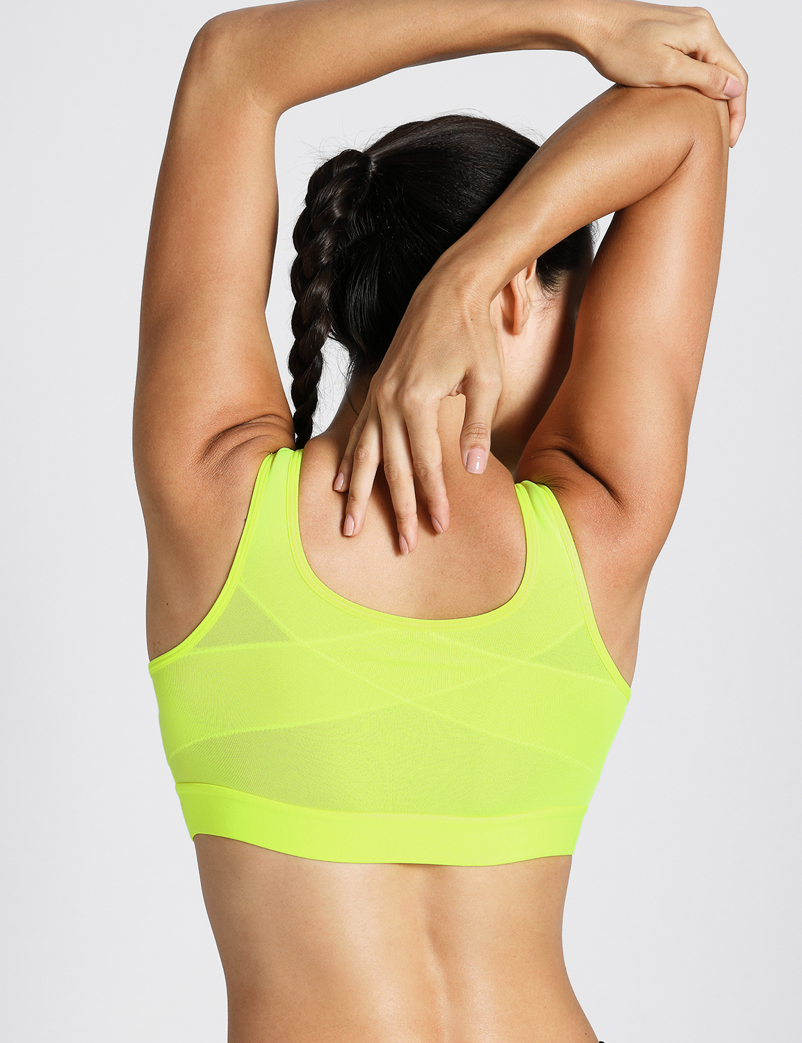 Women/'s High Impact Wireless Padded Cup Tank Top Gym Active-Sports-Bra