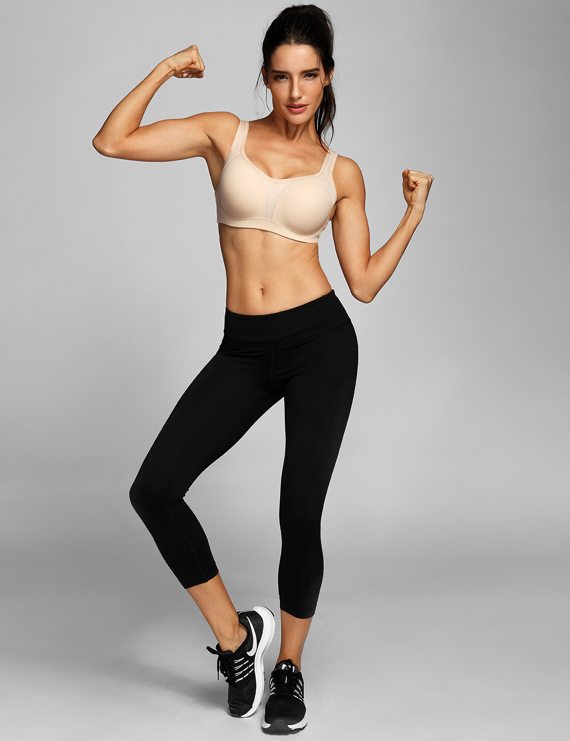 Women-039-s-Firm-Support-Contour-High-Impact-Underwire-Sports-Bra thumbnail 18