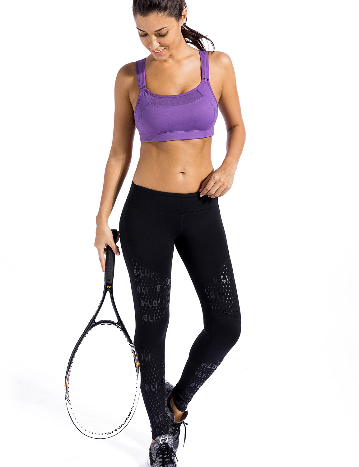 Women-039-s-Bounce-Control-Wire-Free-High-Impact-Max-Support-Sports-Bra thumbnail 18