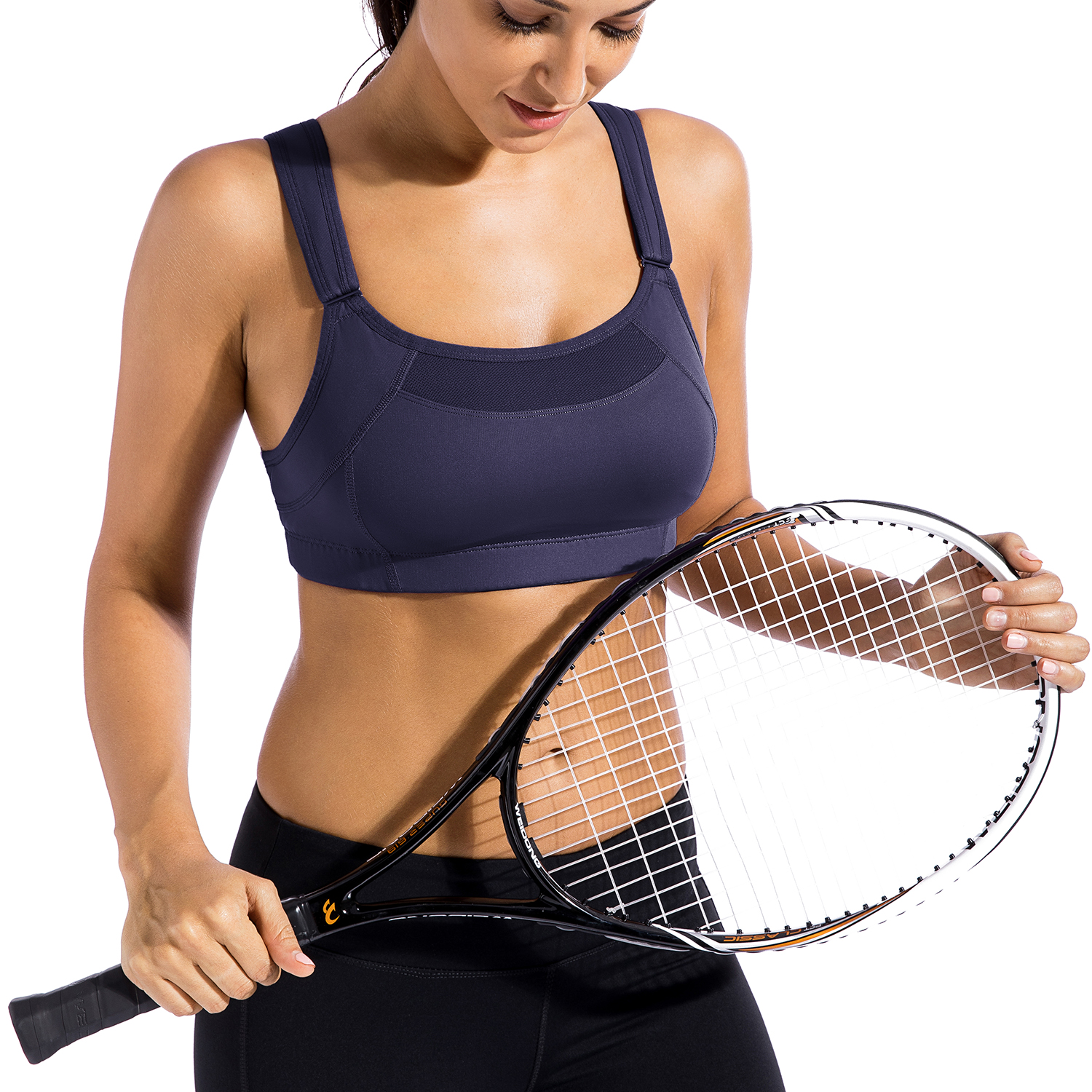 Women-039-s-Bounce-Control-Wire-Free-High-Impact-Max-Support-Sports-Bra thumbnail 23