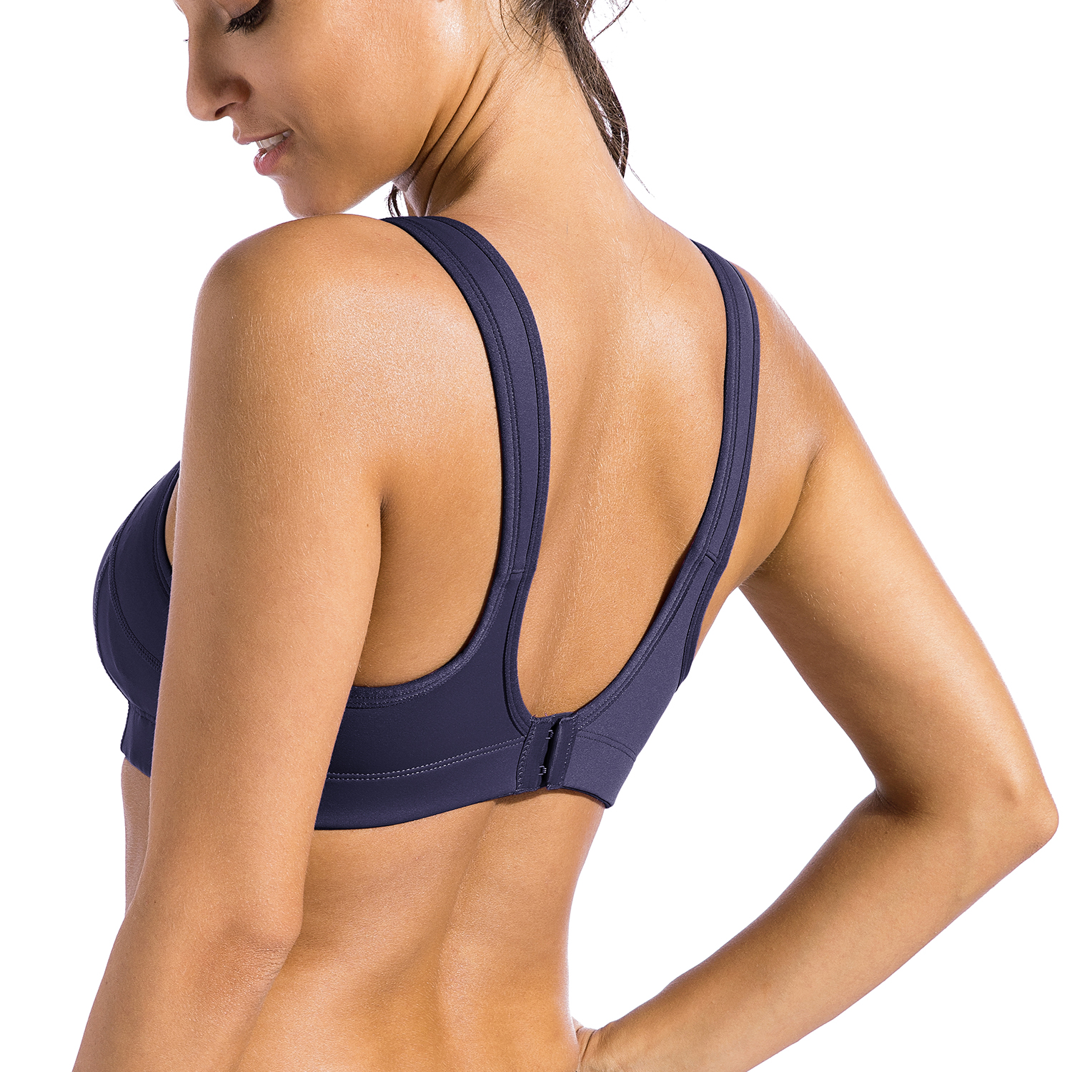 Women-039-s-Bounce-Control-Wire-Free-High-Impact-Max-Support-Sports-Bra thumbnail 24