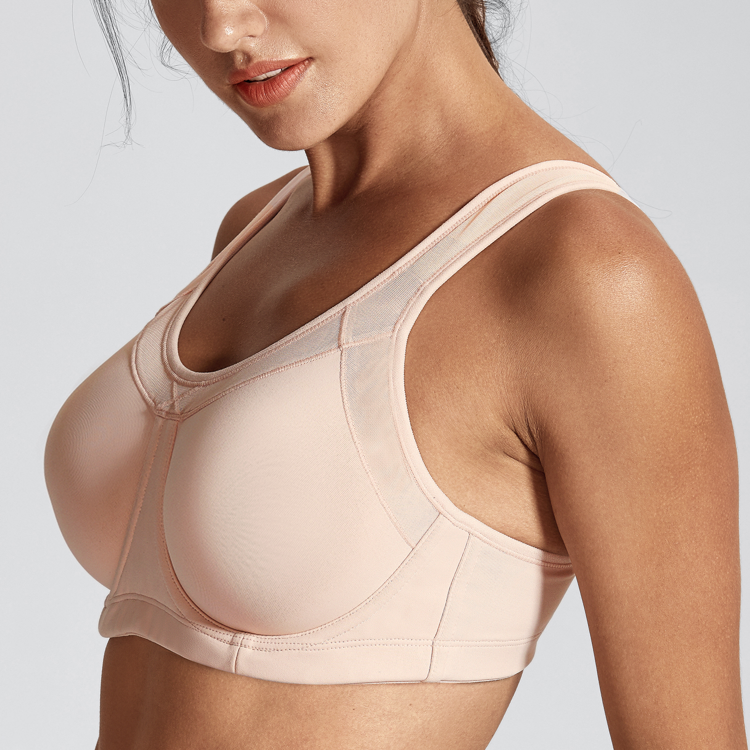Women-039-s-High-Impact-Full-Coverage-Bounce-Control-Plus-Size-Workout-Sports-Bra thumbnail 13