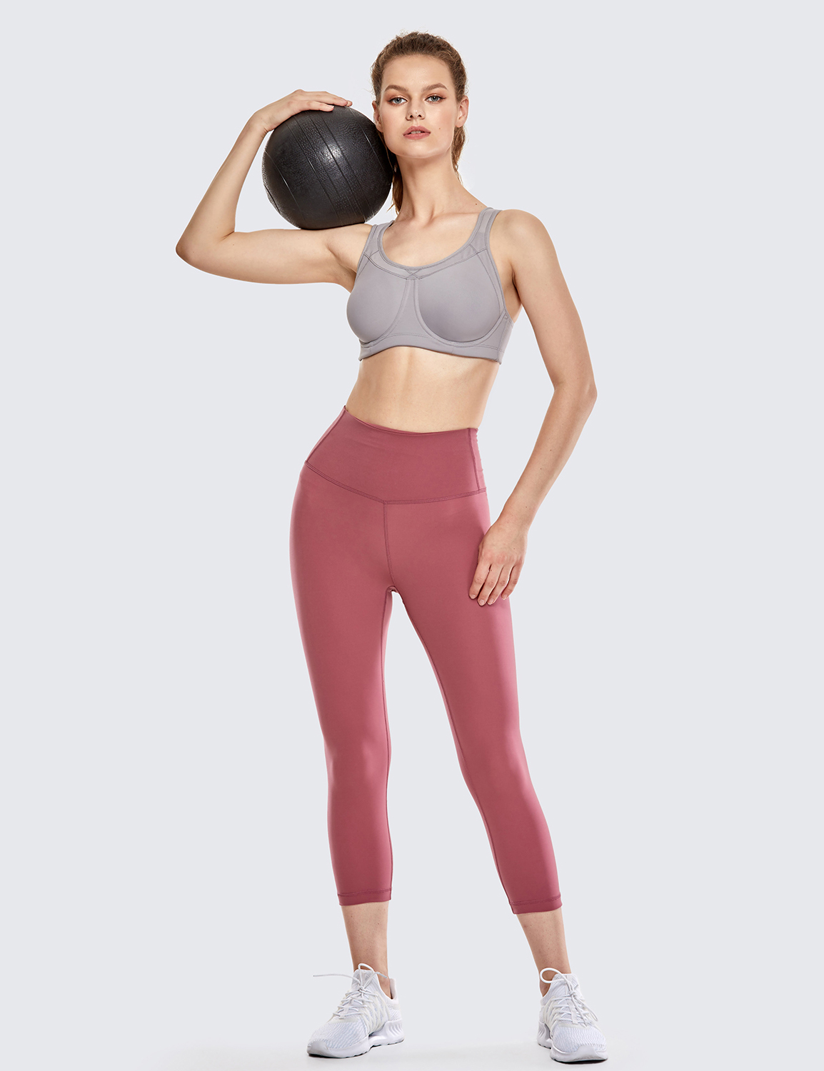 Women-039-s-High-Impact-Full-Coverage-Bounce-Control-Plus-Size-Workout-Sports-Bra thumbnail 24