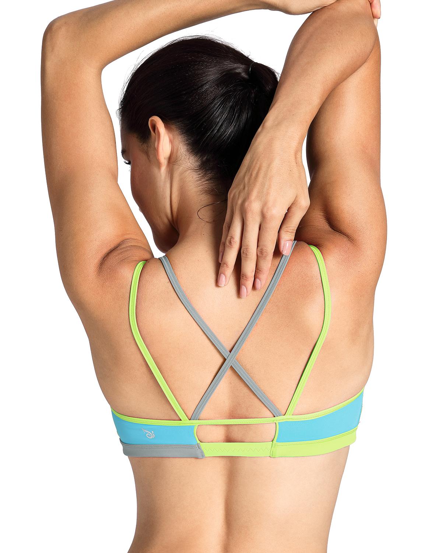 Femme-Soutien-Gorge-de-Sport-Yoga-Bandeau-Padde-Sans-Armatures