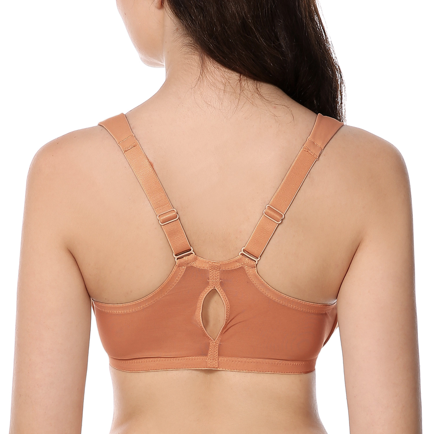 Women-039-s-Full-Coverage-Underwire-Non-Padded-Racerback-Front-Closure-Bra thumbnail 18